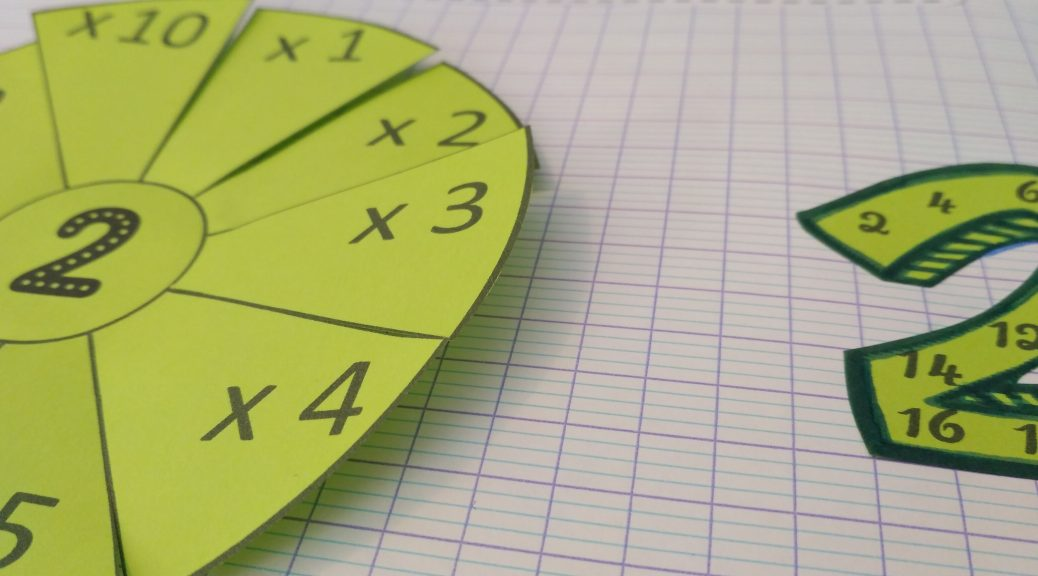 Le on manipuler sur les tables de multiplications for Jeu sur les multiplications