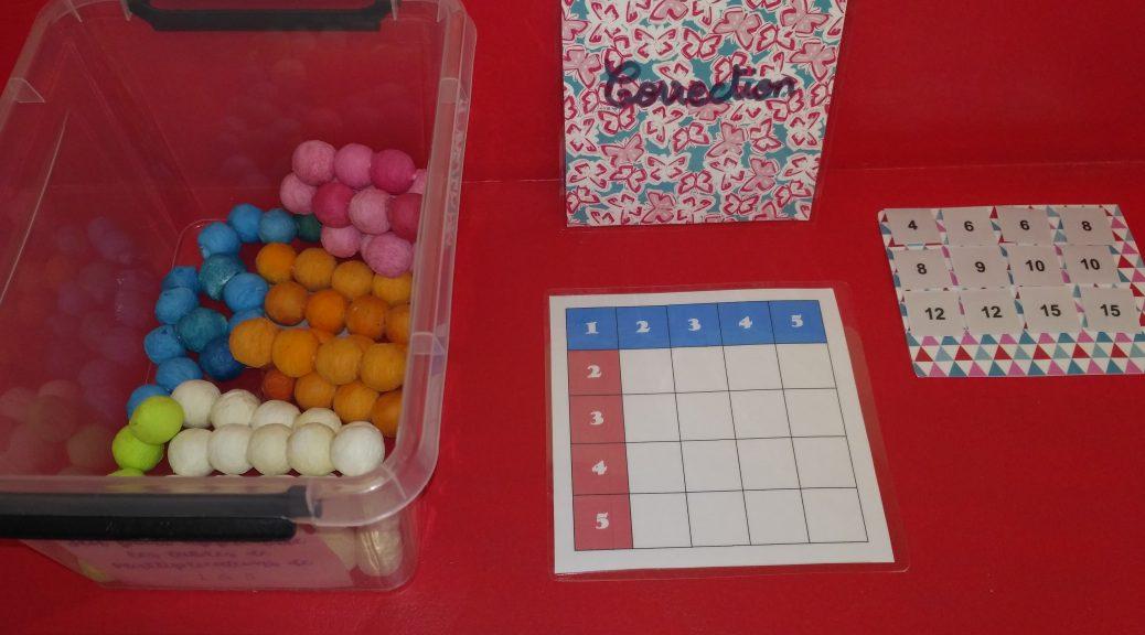 Jeu Pour Travailler Les Tables De Multiplications Tablettes
